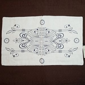 New - Raven & Lily Rectangle Vanna Pillow Cover